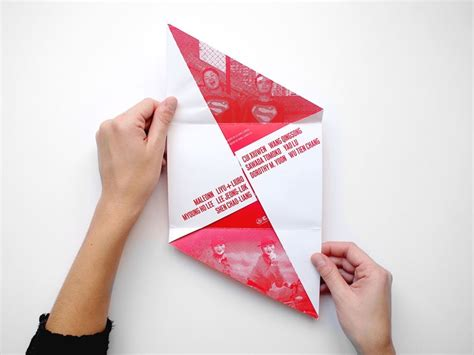 Interesting Paper Folds - 44 best direct mail design images on