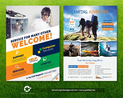 professional flyer templates by grafilker envato studio
