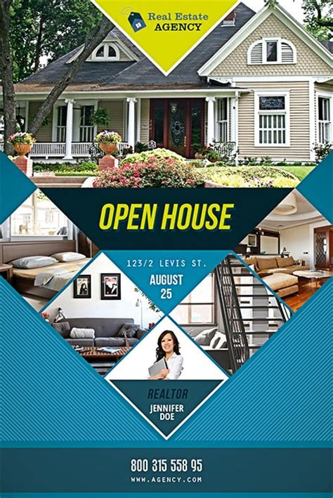 real estate flyer creator real estate open house flyer template