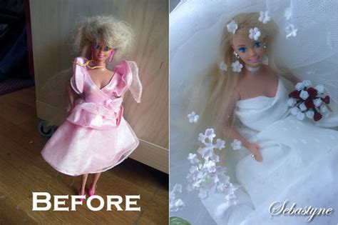 Fix Matted Hair by Restoring A Modern Doll With Matted Hair