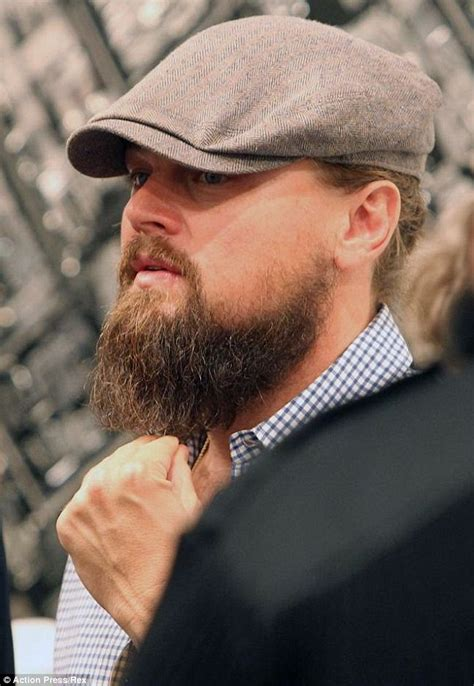 Leonardo Dicaprio Is Causing A Stir In The Community by Global That S Why You Got A Beard Leonardo Dicaprio
