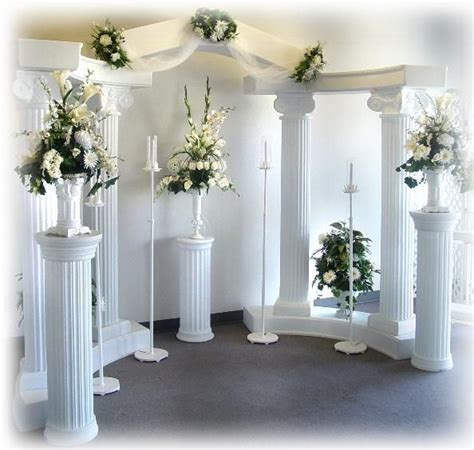 wedding backdrop ideas with columns 603 best back drop ideas images on paper
