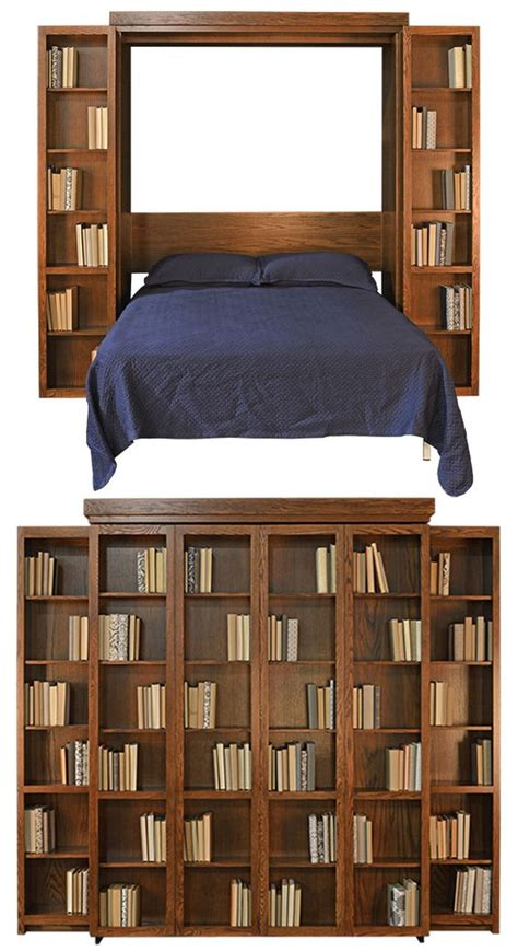 murphy beds bookcases and home furnishings on pinterest