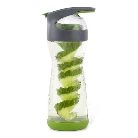 Infuser Waterjug Teko Infused Water Gelas circle cucumber infuser glass water bottle the green