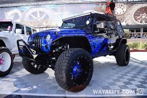 2014 sema all out road purple blue black jeep