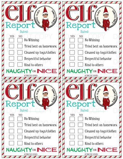 printable elf on the shelf naughty letter this listing is for a print it do it yourself elf on the