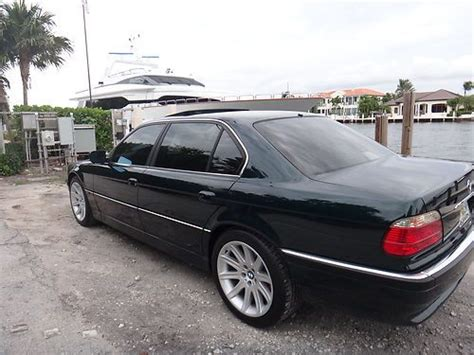 1998 bmw 740il type sell used 1998 bmw 740il excelent condition in pompano