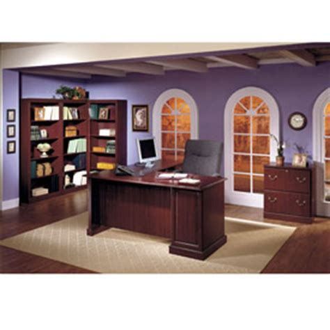 executive office furniture collections desks office collections bush 174 saratoga executive