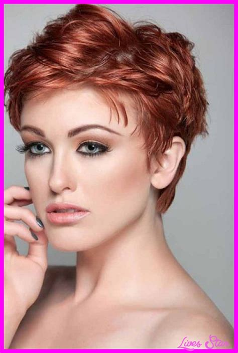 short hairstyles photo gallery really short haircuts for wavy hair livesstar com