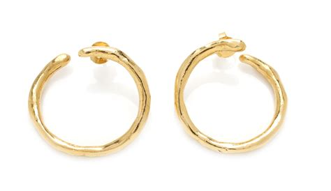 large loop earrings marta salinas jewellery