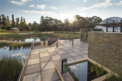 Landscape Architecture Adelaide Gardens Through The Eastern Gate Maintains Visitor And