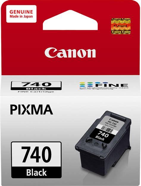 Catridge Canon Ink Pg 740 Black Hitam Original canon pg740 black ink catridge canon flipkart