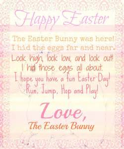 letter from the easter bunny printable life s all about
