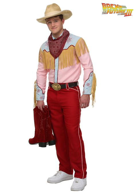 cowboy costume back to the future iii cowboy marty costume