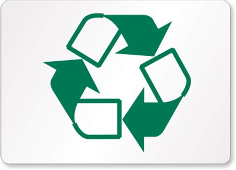 printable recycling images printable recycle sign clipart best