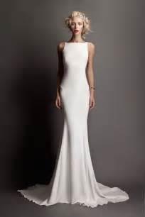 daytime wedding dresses best 25 sleek wedding dress ideas on modern