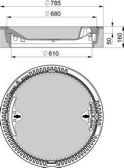 schachtabdeckungen zum auspflastern meierguss beton guss schachtabdeckung 104040 rund