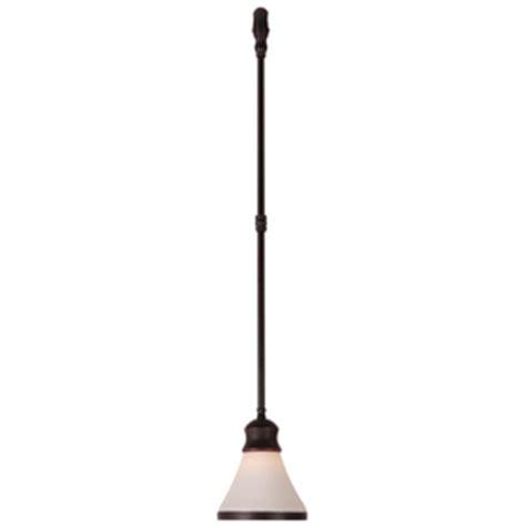 Linear Track Lighting Pendants Shop Portfolio Antique Bronze Cone Linear Track Lighting Pendant At Lowes