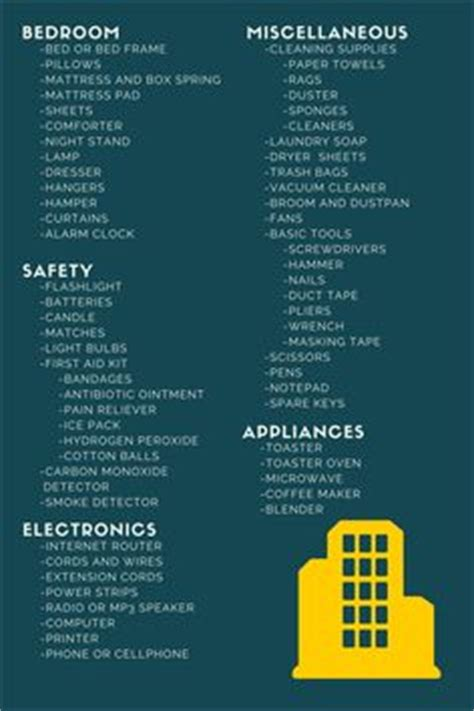 things to buy for an apartment the perfect checklist for your next move apartment