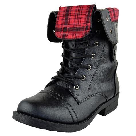 black combat boots black fold combat boots boot ri