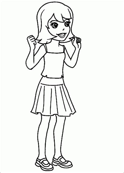 polly pocket coloring pages coloringpagesabc com