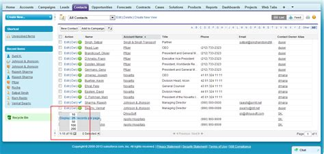 Viewing Records Working With Salesforce List Views Tips Of The Day
