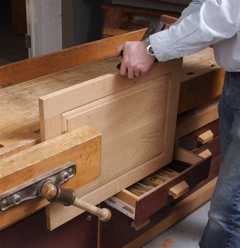 Drawer Support by Eight Tips For Securing Work To A Benchtop Finewoodworking