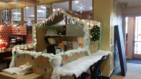 100 christmas cubicle decorating ideas mesmerizing