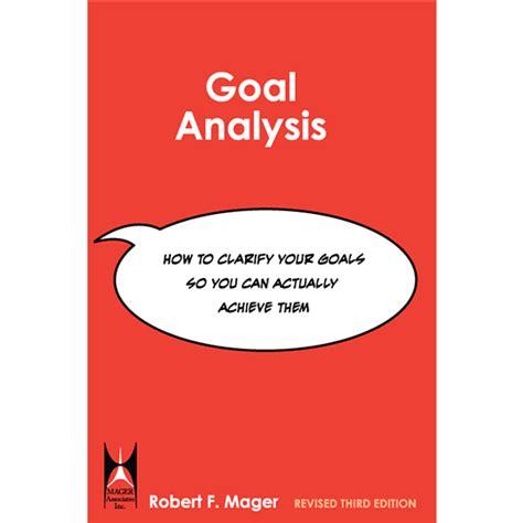 Goal instruction analysis