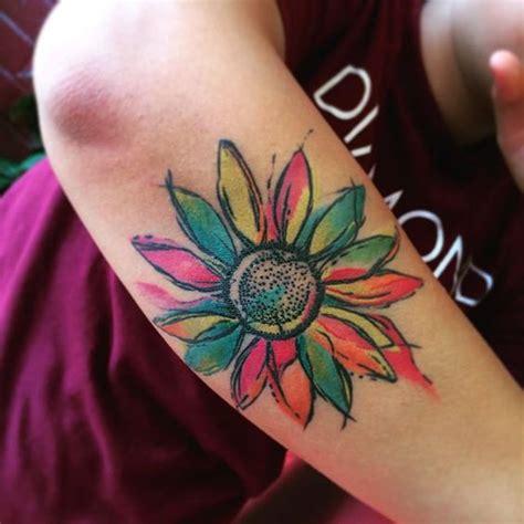 30 disegni delizioso girasole tatuaggio tatuaggi e piercing