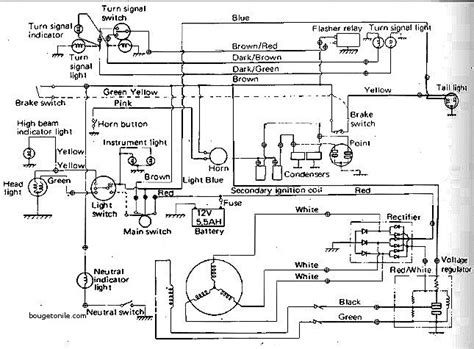yamaha rd 350 wiring diagram fresh yamaha rd350 electrical