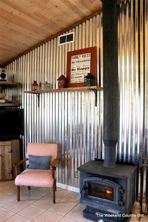 corrugated metal decorating ideas home decor pinterest ways to decorate with corrugated metal decorating your
