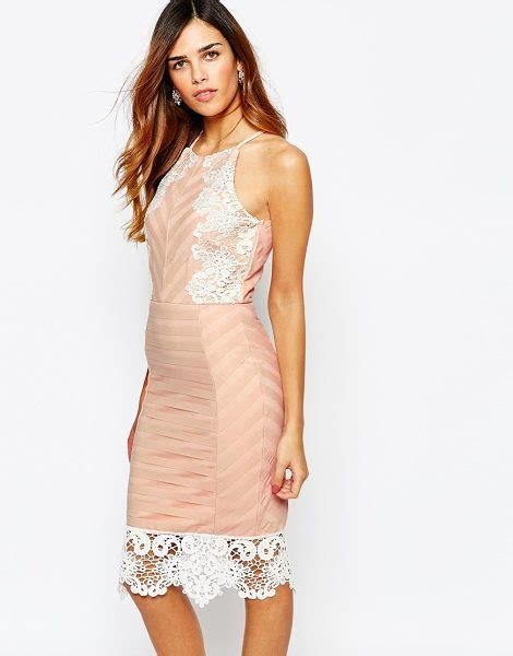Lipsy Lace Applique Dress by Lipsy Keegan Lace Applique Cami Dress