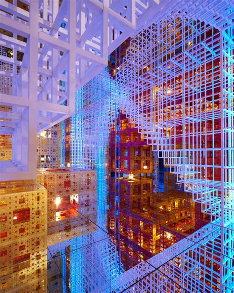 layout artist in french serge salat beyond infinity immersive installation