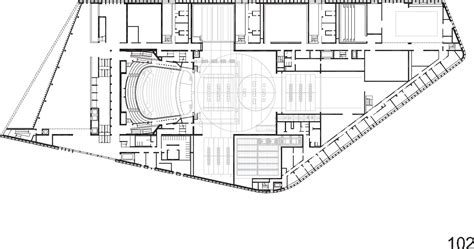 opera house floor plan gallery of opera house linz terry pawson architects 35