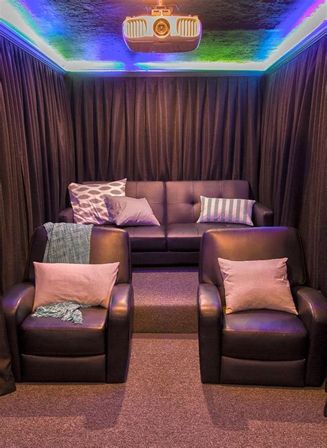 home theater room  reveal home theater home