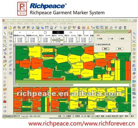 fabric pattern maker software richpeace apparel cad software gts buy garment cad