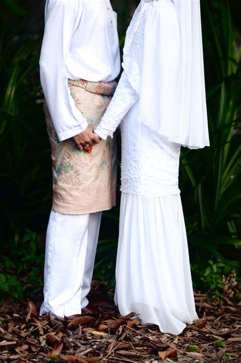 Baju Melayu Nikah Putih set baju nikah untuk disewa
