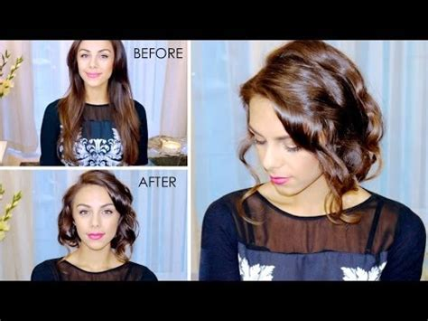 great gatsby faux bob 1920s inspired hair youtube chic faux bob hair tutorial great for beginners youtube