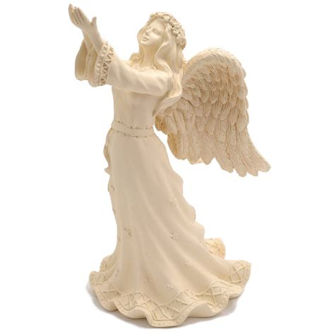 angel star figurine 9 inch large angel figurines