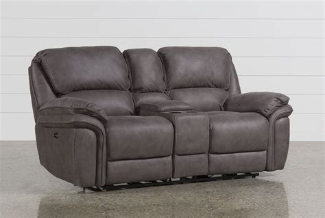 norfolk power reclining loveseat wconsole norfolk power reclining loveseat w console living spaces