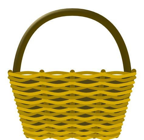 free clipart basketball picnic basket clip at clker vector clip