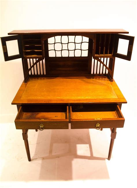 Japanese Writing Desk by Quality Anglo Japanese Writing Desk In The Manner Of