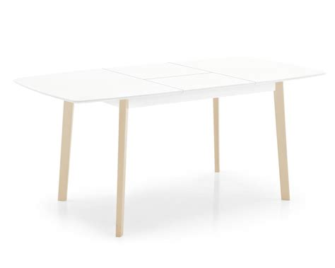 Table R by Table Rectangular Wood Extending Table Calligaris