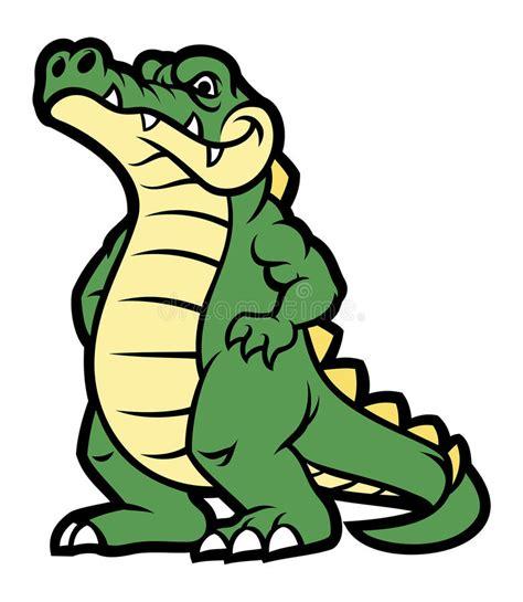 imagenes reptiles vector personaje de dibujos animados del cocodrilo ilustraci 243 n