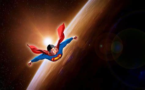 wallpaper keren superhero gambar 10 wallpaper gambar kartun superman terbang keren