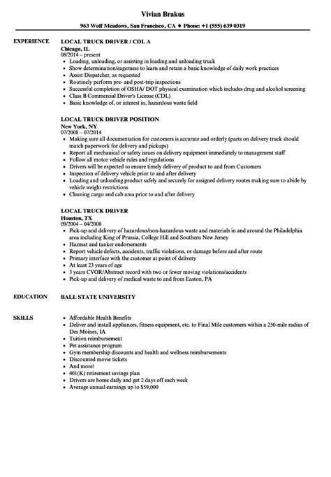 truck driver resume sle canada dorable cdl resume sle pattern universal for resume writing avtomig info
