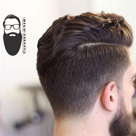 side cut hairstyles mens hairstyles side cut fade haircut