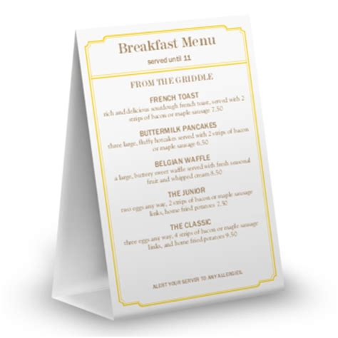 restaurant tent card template table tents for restaurants musthavemenus