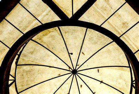 tetto a cupola struttura tetto a cupola trasparente fotografia stock